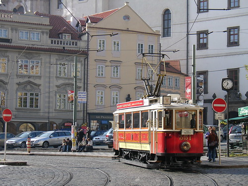 Prague tram | by fklv (Obsolete hipster)
