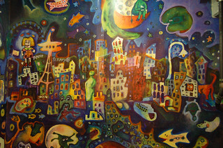 Seattle painting   by artfulblogger