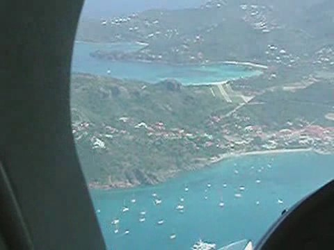 Landings and takeoffs, St. Barth