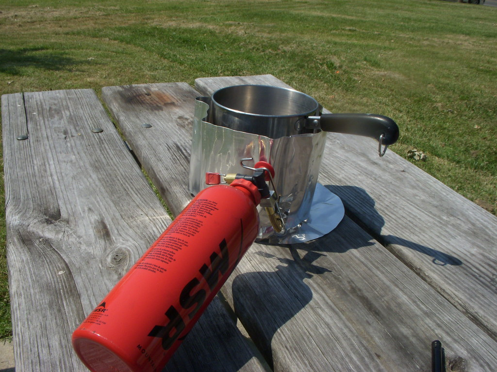 MSR Whisperlite | Testing out the new stove  | Jeremy