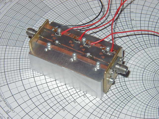 24GHz Low Noise Amplifier | Two Stage 24GHz LNA built for EC… | Flickr
