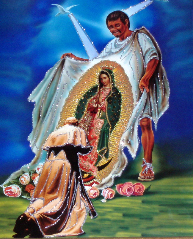 Pope John Paul II & Juan Diego's Tilma