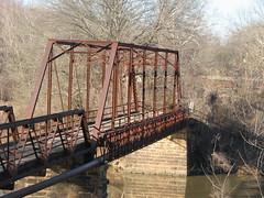 Old Lee Creek Bridge-Truss Close-Up