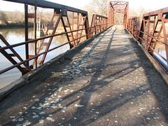 Old Lee Creek Bridge-Deck View