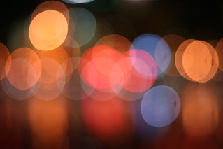 city lights bokeh | by ginnerobot