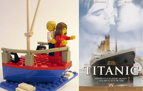 Famous Movie Scenes Recreated With Lego