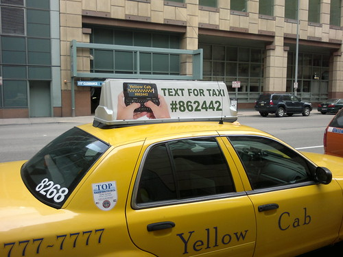 Text For Taxi | by paulswansen