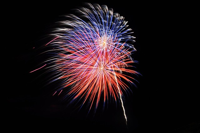 Fireworks at Ferdinand's 175th Anniversary