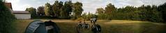 quiet camping panorama