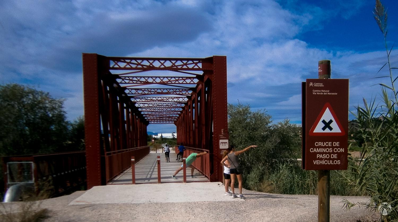 Puente sobre el río Segura