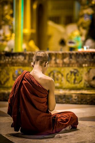 Burmese Monk | by tehhanlin