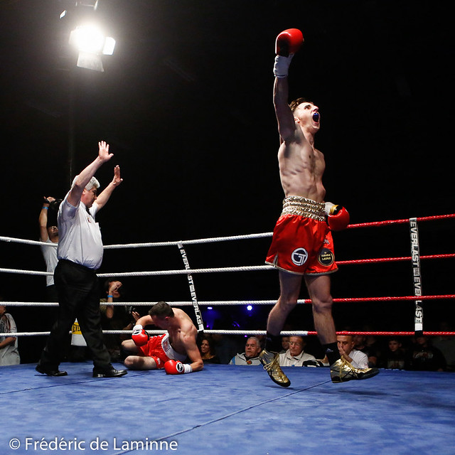 Gala de Boxe d'Andenne : Back in his land FDL 20161029