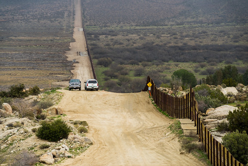 U.S.-Mexico Border | by Anthony Albright