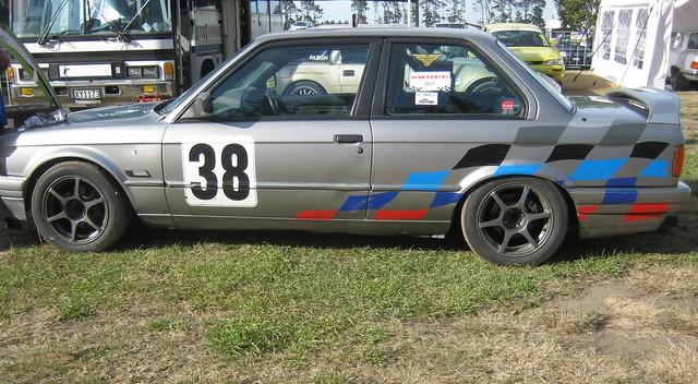 Skope Classic 2017. Ruapuna Park Raceway. 1980 BMW 325i E30.