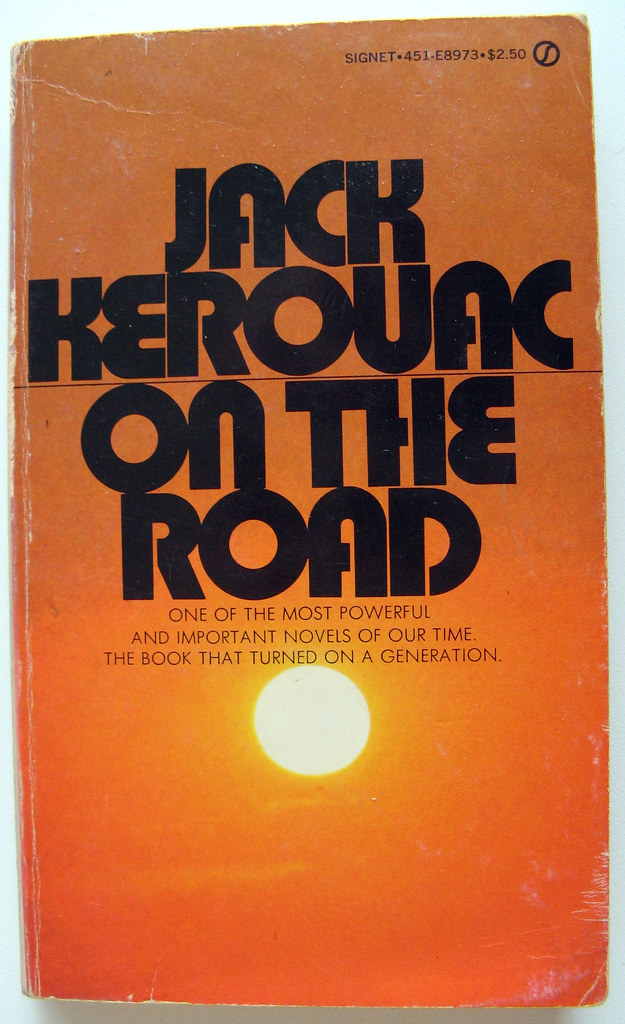 Image result for kerouac book covers""