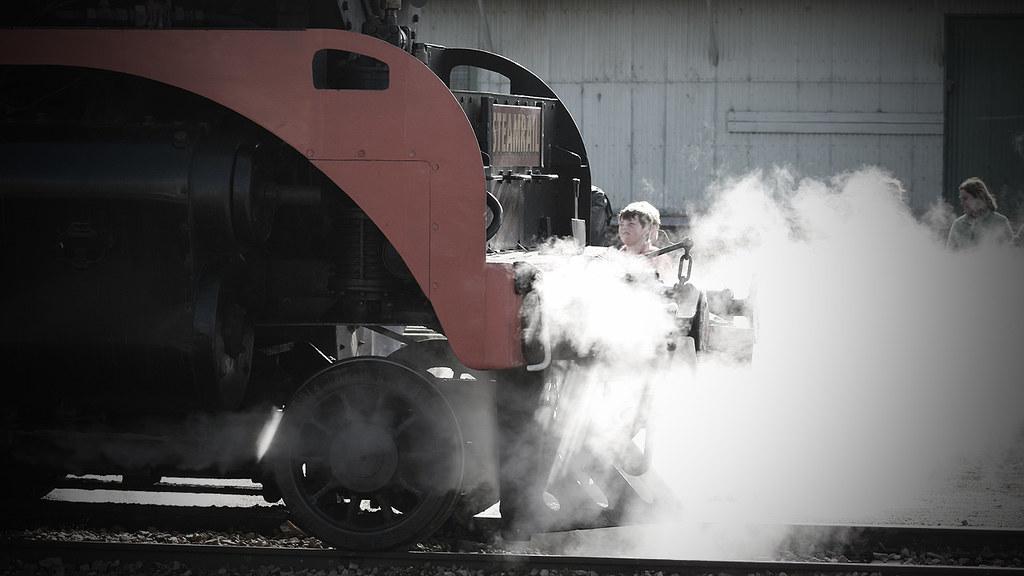Steamy by michaelgreenhill