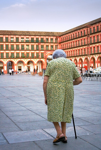 Old Woman's Walk, Plaza Corredera, Cordoba | by mcohen.chromiste