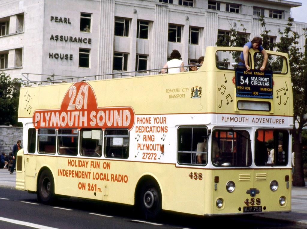 095-19 Plymouth Atlantean 458 WJY758
