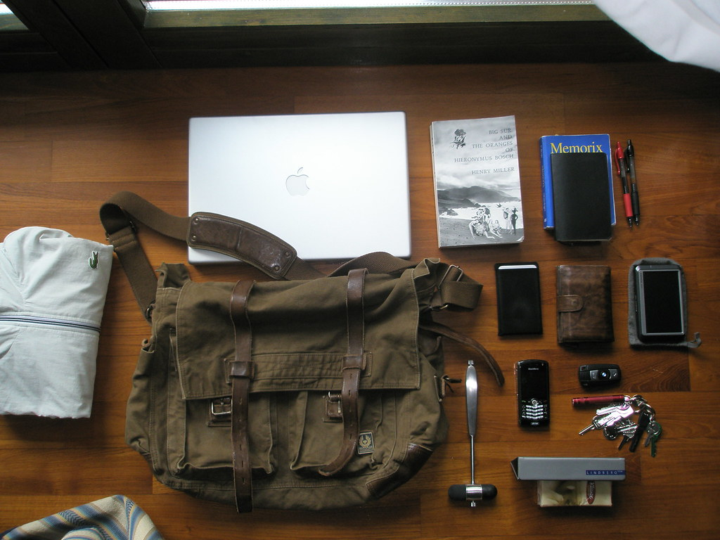 68825a841ca What's in My Belstaff 554 Shoulder Bag | Things I do actuall… | Flickr