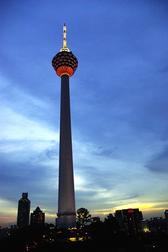 KL Tower in Dusk | by wkwoo