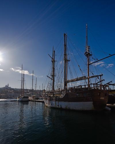 Marseille : Le Vieux Port by mouzhik