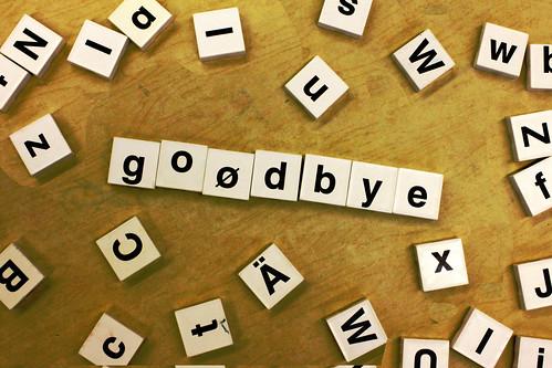 goodbye | by woodleywonderworks