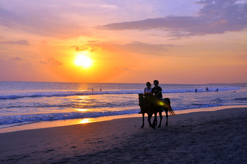 sunset bali horse indonesia de golden waves surfing riding ku romantic rays colourful jalan ta sari kuta dewi seminyak galope abigfave anawesomeshot