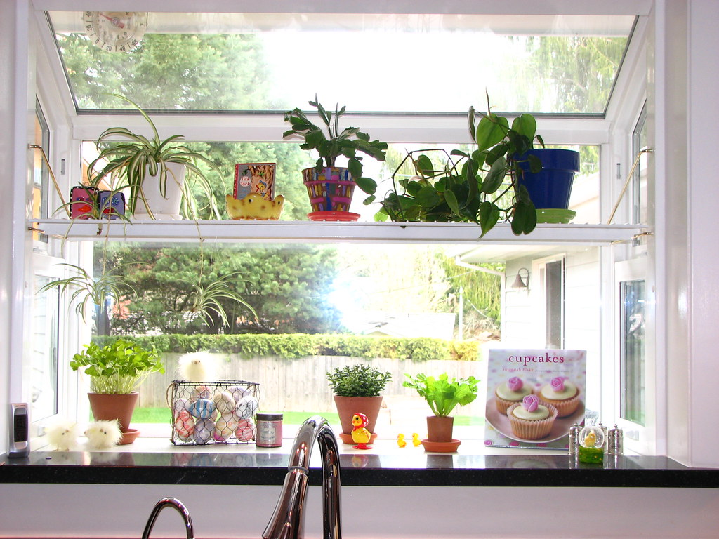 Kitchen garden window | Garden window. | expensive | Flickr