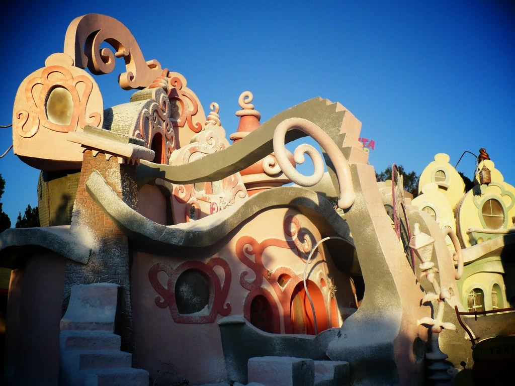 by sfxeric The Whoville set from How the Grinch Stole Christmas. | by sfxeric