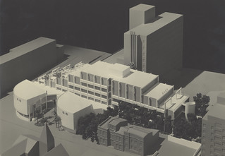 Concept design model artwork for the David Maddison building (NEWMED1), Newcastle, Australia | by Auchmuty Library, UON