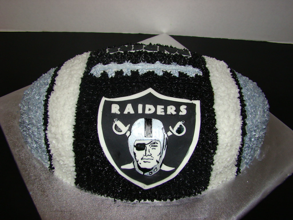 Raiders Football Cake A Photo On Flickriver