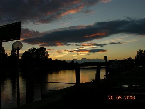 Sunset @ Stein am Rhein