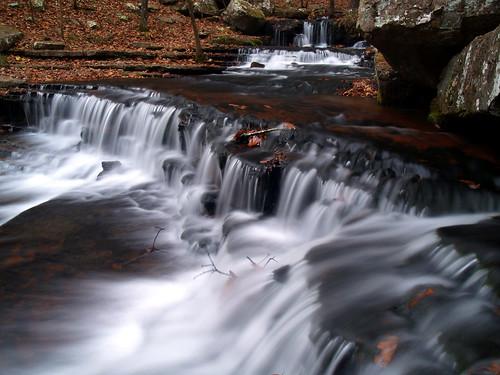 waterfall arkansas greersferrylake collinscreek