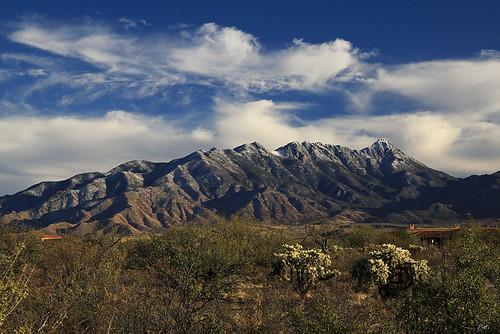 arizona snow az greenvalley santaritamountains