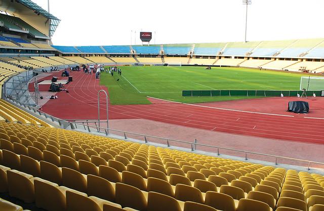 royal bafokeng stadium the day before