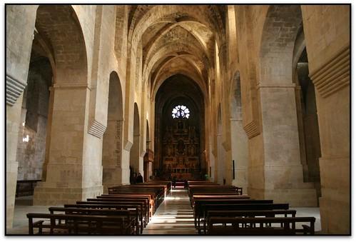 Interior, Monestir de Santes Creus (l'Alt Camp)