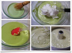 Japanese Green Tea Matcha Chiffon Cake method | by van_pham