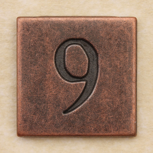 Copper Square Number 9 | by Leo Reynolds