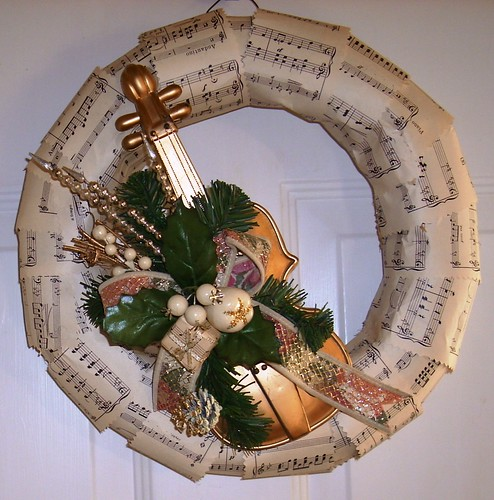 formal wreath   by The Wreath Witch thrift & crafts
