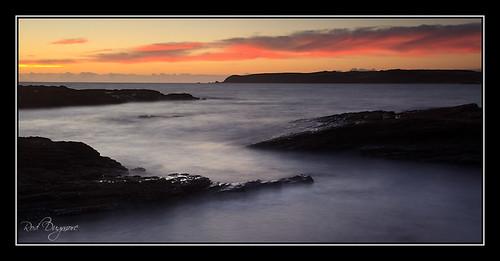 sea newzealand sky sunrise dawn rocks northisland 5d tawharanui ef1740l