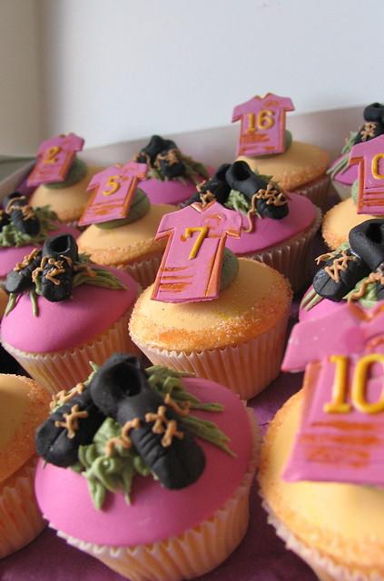 Broncos Cupcakes