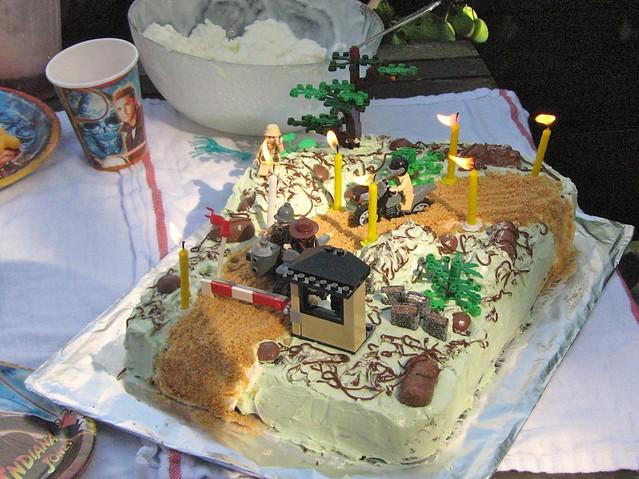 Stupendous Lego Indiana Jones Birthday Cake 2 Birthday Cake My Husban Flickr Funny Birthday Cards Online Inifodamsfinfo