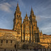 Cathedral of Santiago de Compostela in the Sunset by Thor Lux