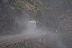 A very dusty ride