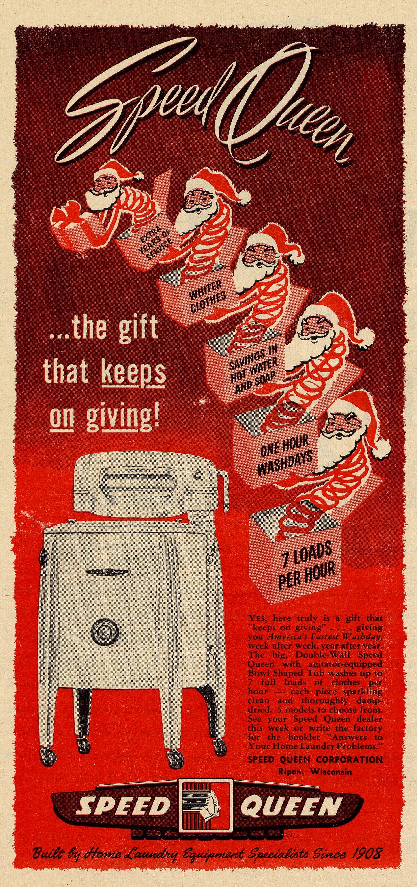Speed Queen Corporation - December 1949