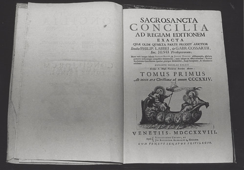 """""""Sacrosancta Concilia Ad Regiam Editionem Exacta"""", as held in the Auchmuty Library, Cultural Collections, the University of Newcastle, Australia 