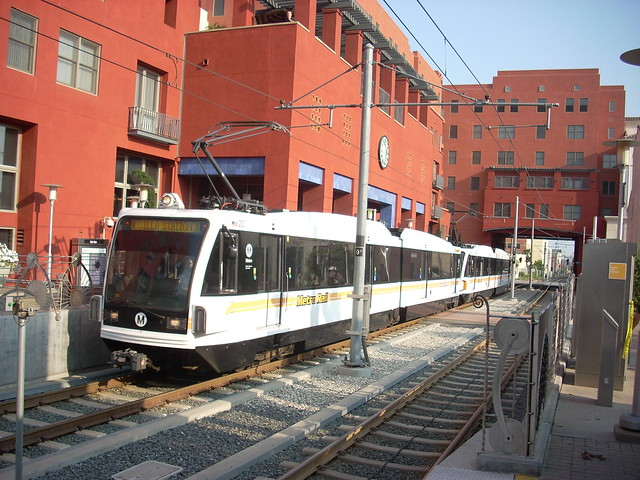 Gold Line at Del Mar Station, Pasadena, Ca.