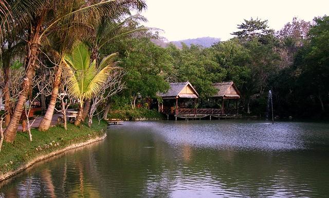 Laos - Luang Prabang - Gewässer, 9280