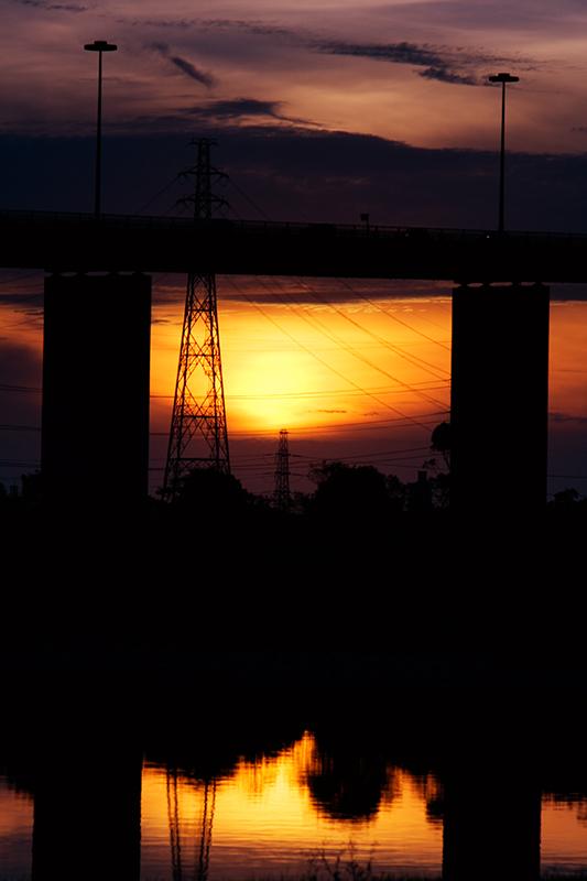 West Gate at Twilight by .Nigel.