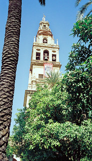 Mosque/Cathedral Minaret/Bell Tower, Cordoba, Spain.